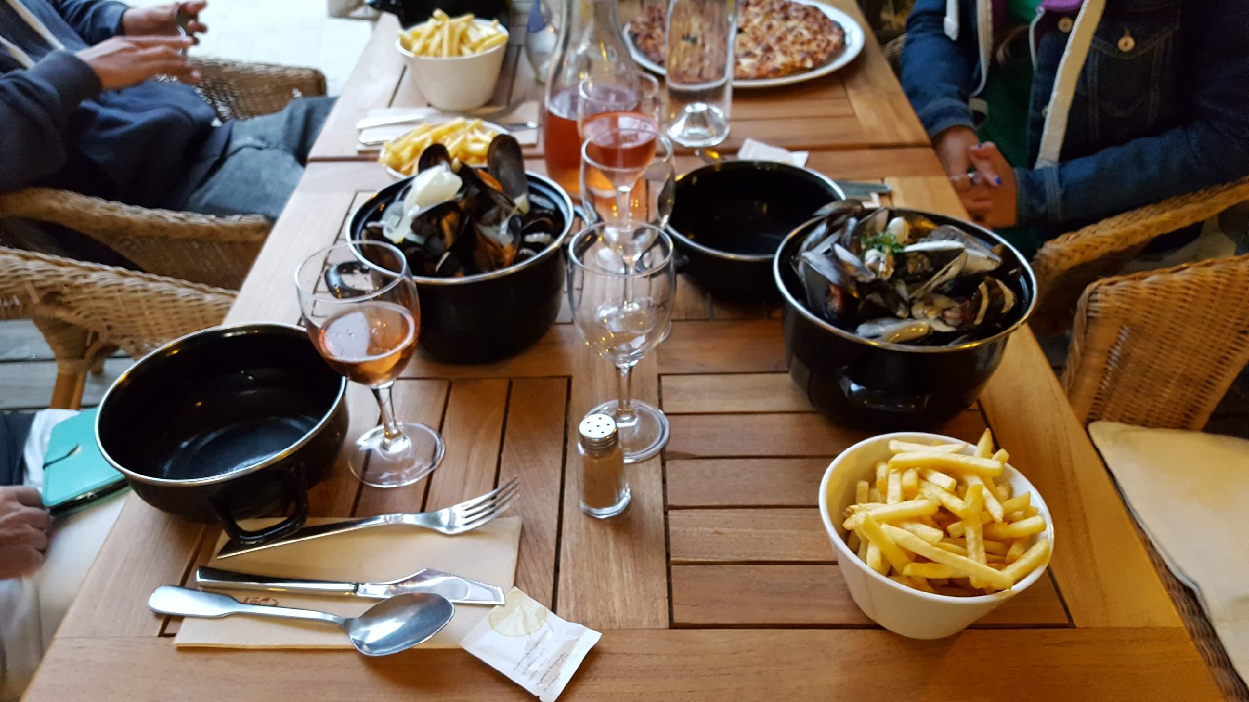 Il Giardino Restaurant au Cap Ferret - Moules