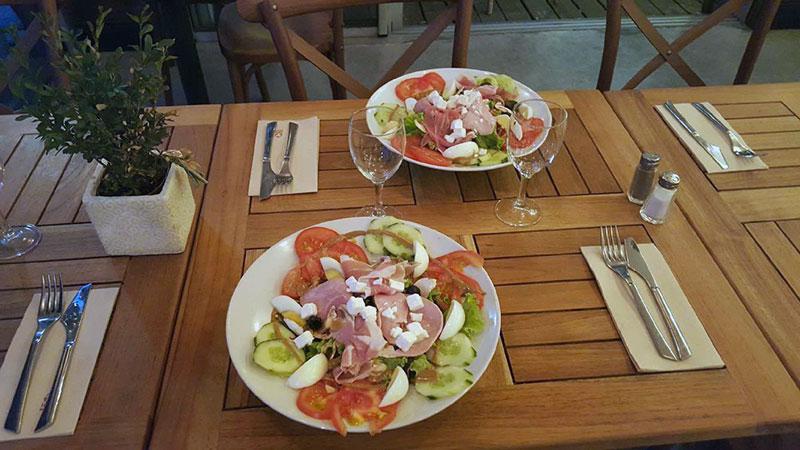Restaurant italien au Cap Ferret