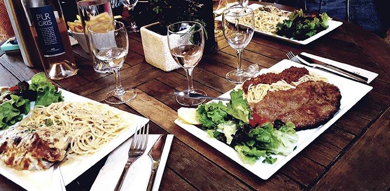 Restaurant italien au Cap Ferret - Il Giardino